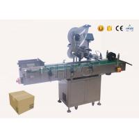 China Multi function label applicator machine for boxes , auto labelling machine on sale