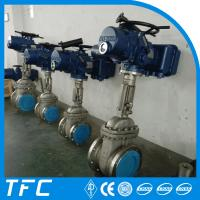 Details Of Electric Motor Operated Flange Gate Valve 106063956