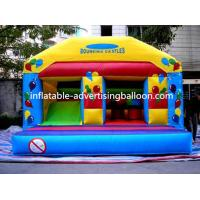Best Custom Sized Advertising Inflatable Castle Custom For Opening Event wholesale
