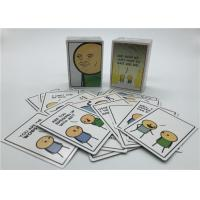 Best Personalized Playing Cards , Joking Hazard Blank Cards Easy Operation wholesale