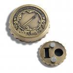 Best Beer Cap Shape Personalised Fridge Magnet Bottle Opener Zinc Alloy Material wholesale