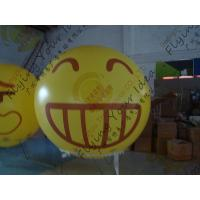 Best Amazing Round Inflatable Advertising Balloon Attractive Smile Design wholesale