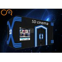 China Fully Immersive 5d Motion Ride 2 / 3 / 6 DOF With Central Control System on sale