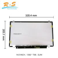 "Best Grade A 14.0"" Touch Screen LCD Display B140XTK01.0 with  EDP Glossy HD wholesale"