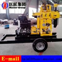 Best XYX-200 Wheel Type hydraulic press rotary drilling machine water well drilling rig for sale wholesale