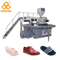 Best 110-150 Pairs / Hour Shoe Making Production Line plastic Slipper Shoes Making Machine  wholesale