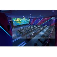 Best 3.75KW 5D Movie Theater For Fun Ride Roller Coaster Simulator Commercial Amusement Park wholesale