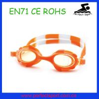 Best High quality children swimming glasses Silicone kids swim goggles wholesale