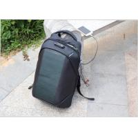 China Multi Function Solar Powered Backpack , Anti Theft Solar Backpack For Laptop on sale