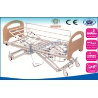 Best 5 Function Electric Nursing Beds With Steel Side Rails , MDF Head Board wholesale
