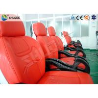 Best Business Center 5D Cinema Equipment With Safety Chair / Push Back Function wholesale