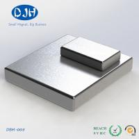 Best Custom Industrial Magnets Neodymium Zinc Coating Rectangular / Square Shape wholesale