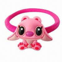 Buy cheap Cute Cartoon Children's Hair Accessories, Made of Plastic and PVC from wholesalers