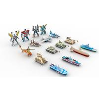 Best Collectible Toys | Gifts & Premiums Variety 3D Puzzle 16 Figurines | Ship,Robot,Plane,Tank wholesale