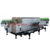 Cheap Old Wine Bottle Washer Machine / SUS 304 Fully Auto Label Removing Machine for sale