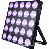 Best Audience Pro Lighting LED Matrix Blinder Light 5 x 5  Mixing Panel Fixture wholesale
