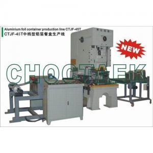 Quality Aluminum foil container making machine CTJF-45T wholesale