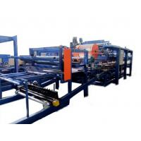 Best Colored Steel PU Sandwich Panel Production Line , Roof Panel Roll Forming Equipment wholesale