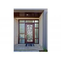 China Sidelight Glass Panels , Architectural Decorative Door Glass Panels  Glass Cabinet on sale