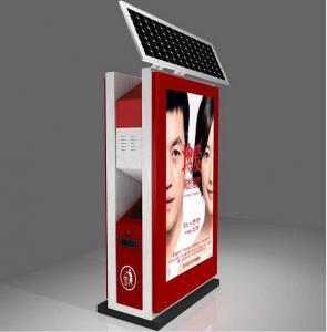 Best airport light box advertising dustbin wholesale