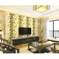 Best 70cm width high quality waterproof mould proof modern styles PVC vinyl wallpaper wholesale