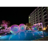 Best Colorful 2.0m PVC Inflatable Reflective Ball Christmas Mirror Sphere wholesale