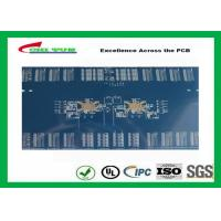 Cheap 3.8mm 12 Layer Quick Turn PCB Prototypes Blue Solder Mask PCB OEM for sale