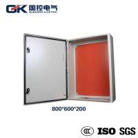 Best Indoor Painted carbon steel RAL 7035 light gray solar module distribution box wholesale