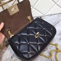 Best 38074 Coach  Cooch 19 Early Spring Cash All-leather Fabric Original Quality Bronze Hardware Flip Cover Inside Deerskin wholesale