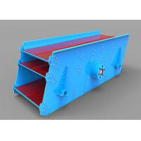 Best 15 Kw Round Mining Vibrating Screen Equipped With Splash Lubrication Exciter wholesale