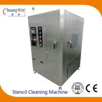 Quality Unique Double Four Spray Bar Cleaning System smt stencil cleaner with 2PCS 50L tanks wholesale