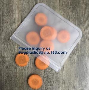 Buy cheap 5pcs Set Pack Food Snack Storage PEVA Ziplock Reusable Peva Food Storage Zip from wholesalers