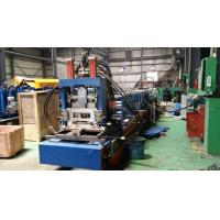 China Steel Frame C Z Purlin Roll Forming Machine With 11.5kw Motor And Automatical Cutting Devices on sale