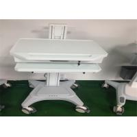 Best Medical Working Station Patient Monitor Stand Hydraulic Laptop Computer Cart wholesale