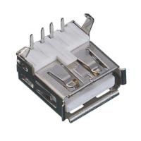 Best A Type USB Computer Computer Pin Connectors 4P Right Angle White Body wholesale