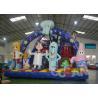 Cheap Spongbob Bouncy Inflatable Slides wholesale