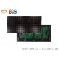 Best P10 Led Moving Message Display SMD3535 Traffic Car Sign Board , 1/4 Scanning wholesale
