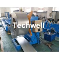 Best Hydraulic Or Automatic Decoiler Machine With Automatically Uncoiling , Hydraulic Expanding , Tension wholesale