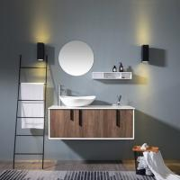 Best Modern Luxury Style Single Sink Console Vanity Oak Wood Or Bamboo Wood Material wholesale