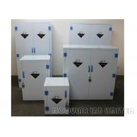 Best 8 10mm Thickness Chemical Storage Cabinets Polypropylene Hinges For Long Life wholesale
