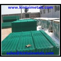 Best 5mm  powder coated green welded wire fencing wholesale