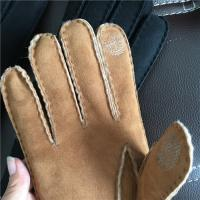 Best Genuine Lambswool Female Warmest Sheepskin Gloves Thickly Fur With Finger wholesale