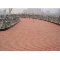 Best Anti - Slipping Environment Friendly Wood Plastic Composite WPC Decking Boards wholesale