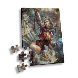 Best Custom 0.6mm PET Lenticular Printing 3d Jigsaw Puzzle Flip wholesale