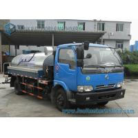 Quality Furuika 2 Axles 4000 L Bitumen container semi trailer Dongfeng Chassis wholesale