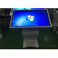 Best White Multi Point IR Touch LCD Touch Screen Information Kiosk 55 Inch wholesale