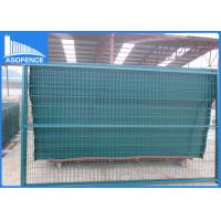Details of customized security temporary fencing panels