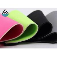 China Waterproof 2mm Neoprene Fabric Sheets ,  Embossed Neoprene Rubber Sheet Fabric on sale