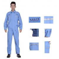Durable Flame Retardant Arc Flash Suit for Electrical Worker Navy Grey Orange Yellow Multi Color