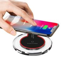 Best Best Bargain Portable Crystal LED Wireless Charging Pad K9 Qi Wireless Charger wholesale